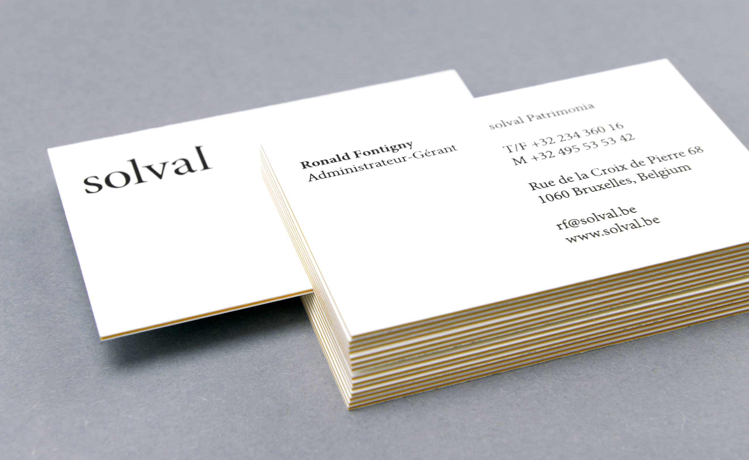 Business Card Solval