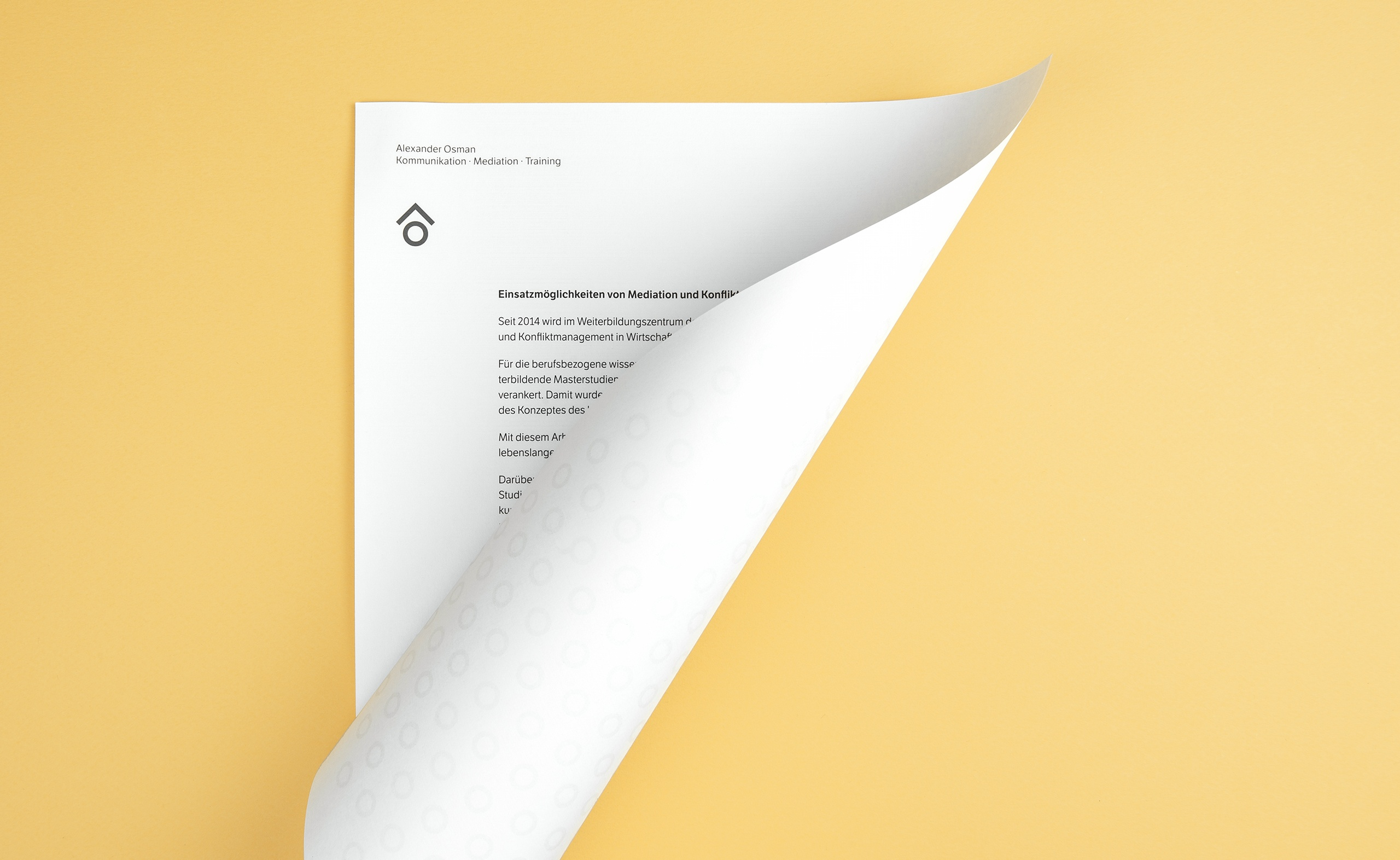 Alexander Osman Letterpaper Pattern