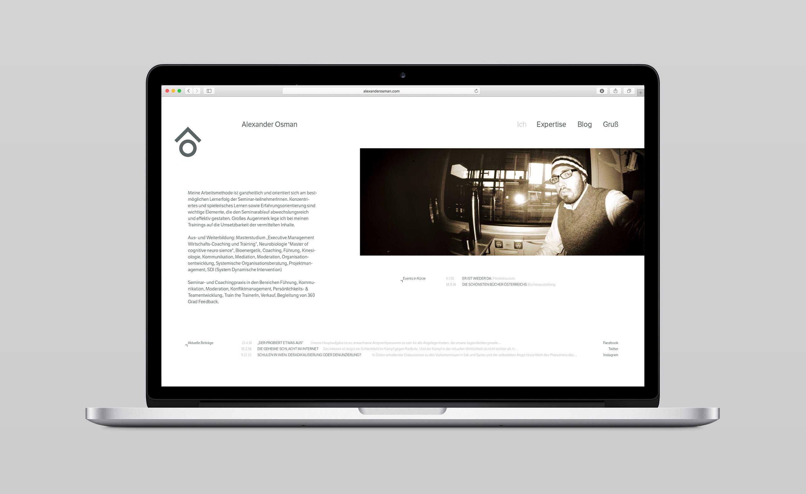 Alexander Osman Webdesign